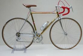 STEEL Road Bike Racing bike Italian Columbus Reynolds RETRO OR EROICA CIOCC WILIER & others