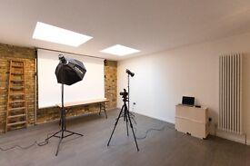 Desk spaces for hire in Creative Studio