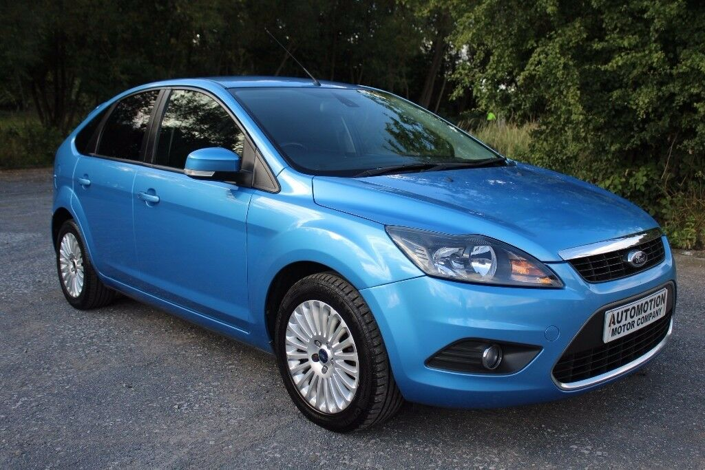 Ford Focus 2,0 Tdci Titanium Blue 88,000 Full History 1 Former Keeper Ex-Condition £3195