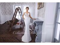 Designer brand new wedding dresses. MARY BRIDE. the ONLY stockist in the UK