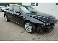 2007 Alfa Romeo 1.9 Lusso JTDM Estate *** damaged repairable ***