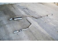 VW Golf MK4 R32 Style Stainless Steel Exhaust System