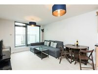 * A SPACIOUS ONE BEDROOM MODERN APARTMENT IN HARDWICKS SQ. IN WANDSWORTH* PRIVATE BALCONY*FURNISHED*
