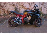 Honda CBR650F 2016 CBR 650 F A2 License Compatible Not Kawasaki Yamaha motorbike