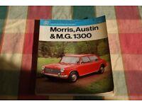 Morris, Austin & MG 1300