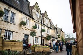 SEEKING EXPERIENCED BAR & WAITING STAFF FOR BUSY COUNTRY PUB, BRADFORD-ON-AVON