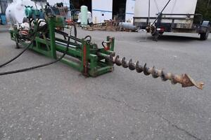 Gas Powered Hydraulic horizontal drill auger