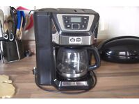 Russell hobbs bean to cup coffee machine.