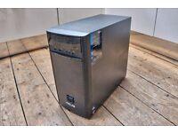 ASUS WINDOWS 10 DESTOP PC . 3TB HDD . 8GB DDR3 RAM . AMD8 . APEX RAW KEYBOARD