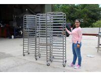 Fri-Jado Convection Double Oven & 3x Stainless Steel Tray Racks