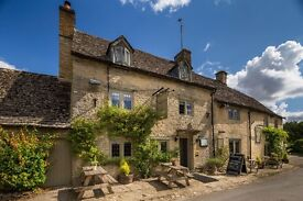 Weekend Housekeeper for beautiful Cotswold village pub