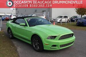 2014 Ford Mustang CLUB OF AMERICA V6 PREMIUM - CONVERTIBLE - CUI