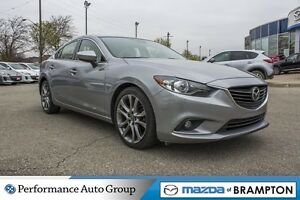 2014 Mazda MAZDA6 GT|REAR CAM|LEATHER|SUNROOF|HTD SEATS