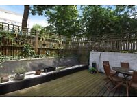 3 bed to let with private garden