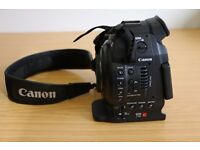 Canon EOS C100 Mark I with DAF - Bundle Offer! (Hardly used - 39 hours)