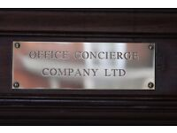 Full Time Recruitment Advisor - Office Concierge Head Office: £25000pa D.O.E. 45 hours/wk Marylebone
