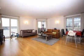 ** MASSIVE 2 BED 2 BATH WITH BALCONY WITH RIVER VIEW AND PARKING IN CANARY WHARF, E14 - AW