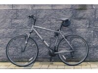 2014 Ridgeback Momentum Rapide Hybrid Sport Bicycle / Large Frame / with Shimano, Suntour, & Contis!