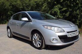 2010 Renault Megane 1.5 dCi FAP I-Music 5dr Silver 90,000 Full Mot £2490