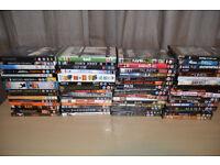 71 DVDs for sale job lot