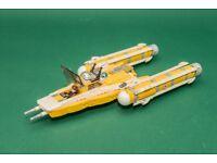 Lego Star Wars Anakin's Y-wing Starfighter - ref 8037 (no manual)