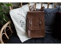Cambridge Satchel Company - Back Pack in tan - Excellent condition RRP £195