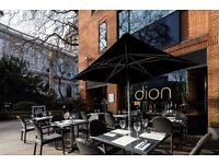 Experienced bar person required, Mon-Fri, dion St Paul's, competitive salary