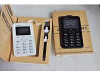 Card size mobile phones good as a spare mobile phone takes iphone 5s, 6, 7 sim card type