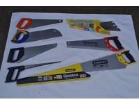 6 saws and spare blade.