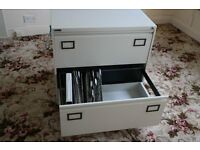 Low level double Filing Cabinet