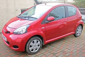 Toyota Aygo 1.0 Ice 5Dr. Fully Serviced last month and MOT till April 2018. Great condition