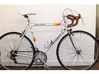 Reynolds 501 frame & forks 54cm lightweight frame Vintage Peugeot Triathlon Road bike,Fully Restored