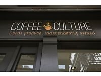 URGENT FULL TIME Coffee Shop Staff Required Good Pay Award winning shop in GUILDFORD