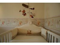Cot Bed and Chest of Drawers Mama & Papas Nursery Furniture