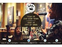 Musicians/Singers For Family Live music nights in Costa Coffee, Tuesdays & Sundays