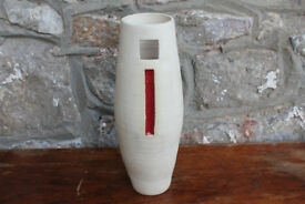 Large Handmade Vase by Diem Pottery, Ireland. Irish 10.5 inches High. Home Decor