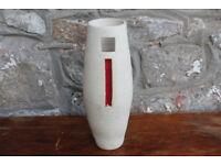 Large Handmade Vase by Diem Pottery, Ireland. Irish 10.5 inches High. Home Decor