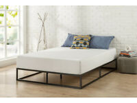 ZINUS Joseph 25 cm Metal Platform Double Bed Frame - New - RRP £90 - SALE PRICE £50!!