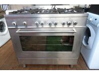 DELONGHI 6 BURNER GAS COOKER 90 CM