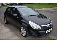 2011 Vauxhall Corsa 1.3 CDTi ecoFLEX Manual Black 1 YEAR MOT