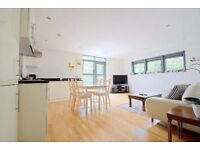 A stunning two bedroom penthouse overlooking Newington Green from a private roof terrace