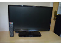 22inch TV with built-in DVD. Polaroid brand