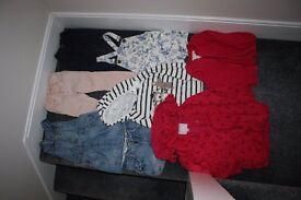 Girls clothes bundle - coat jumper leggings jeans skirt shorts mainly next 3 - 4 y