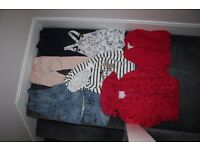 Girls clothes bundle - coat jumper leggings jeans skirt shorts mainly next 3 - 4 y