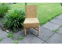 3 x High Quality Indoor/Dry Outdoor Wicker Chairs from Next