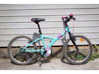 Girls 20'' Hybrid Bike - great condition