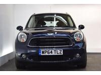 MINI COUNTRYMAN 1.6 COOPER D 5d 112 BHP (blue) 2014