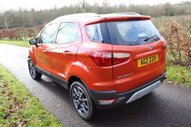 December 2015 Ford Ecosport Titanium TDCI only 8167 miles -lightly damaged repairable
