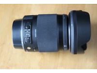 SIGMA CANON fit 18 - 300mm F 3.5 - 6.3 DC MACRO CONTEMPORY LENS