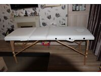 Cream Massage Table used Once